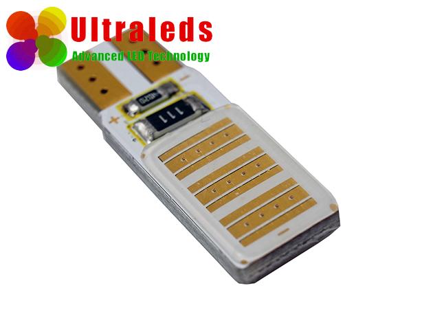 Żarówka LED W5W T10 24 Chips COB High Power CanBus czerwona